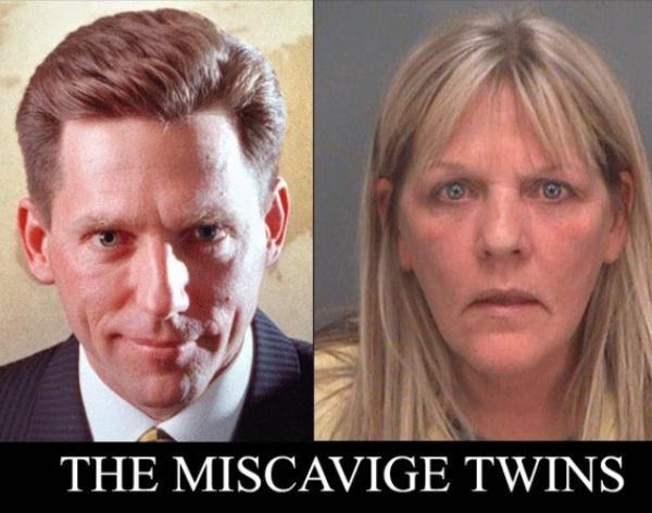 MISCAVIGE TWINS